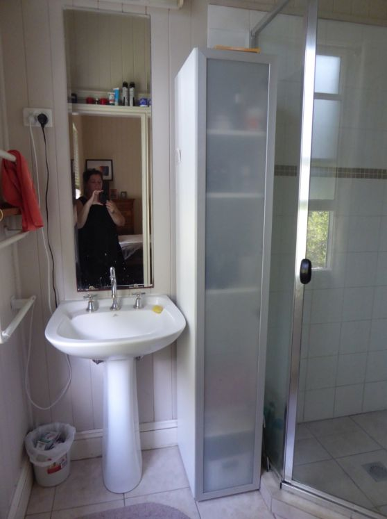 How the old owners used the ensuite