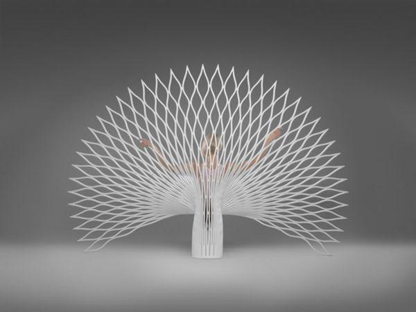 Art Ideen Kreative Designstühle Pfau Modell