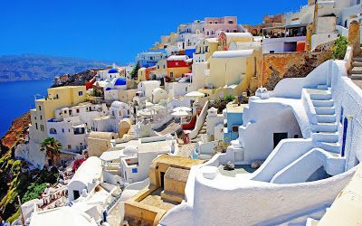 I'd Rather Be In Santorini