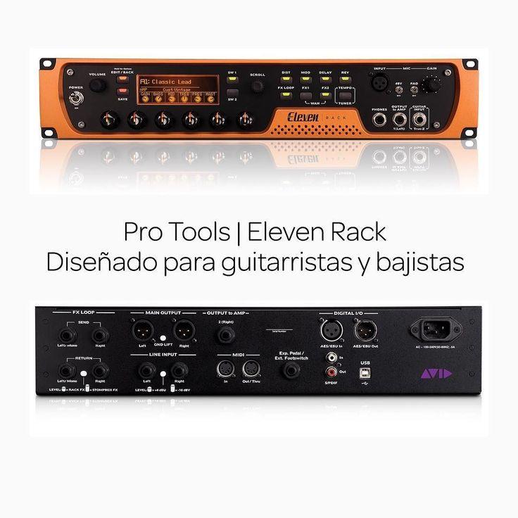 Pro Tools | Eleven Rack proporciona acceso a los sonidos de decenas de equipos de legendarios guitarras y bajos por un precio mucho más reducido que el de un solo amplificador clásico. Desde tonos limpios y brillantes hasta rugidos muy distorsionados siempre tendrás al alcance de tu mano el tono perfecto para la canción en cuestión.  http://ift.tt/2dMvhBS  #Avid #AvidEverywhere #ProTools #ElevenRack #Bajo #Guitarra #Música