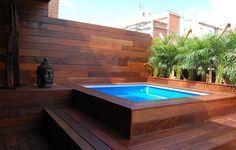 piscina en terraza - Buscar con Google