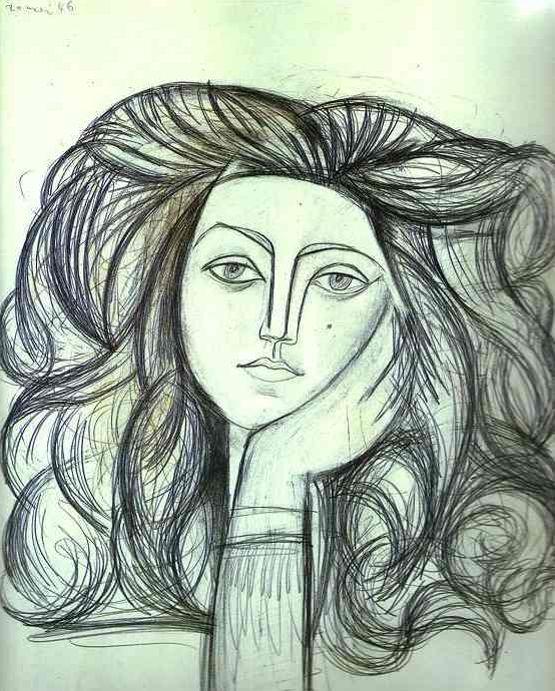 프랑소와즈 질로의 초상