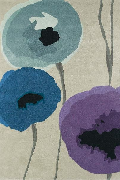 Karpet Sanderson Poppies 45705