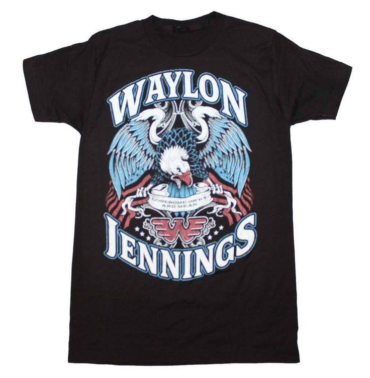 Waylon Jennings Lonesome T-Shirt