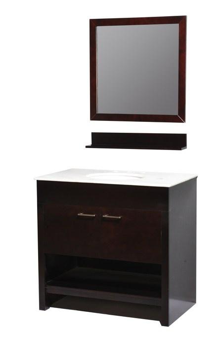 Photo Gallery In Website  vanityOur posh yet simple Auburn single sink bathroom vanity will transform your ordinary bathroom into a stylishly modern space saving bathroom