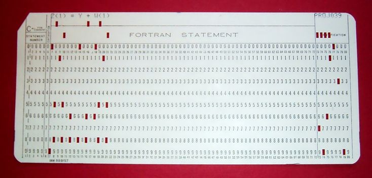 FortranCardPROJ039.agr - Punched card - Wikipedia, the free encyclopedia
