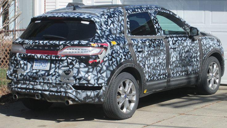 Lincoln MKC test vehicle - Industrial espionage - Wikipedia