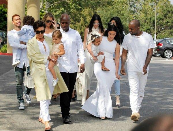 Kim Kardashian Photos: The Kardashian-Jenner Family Celebrates Easter