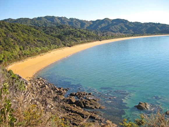 Abel Tasman Coastal Track | Golden Bay New Zealand. Amazing views and tramping is to the tee.