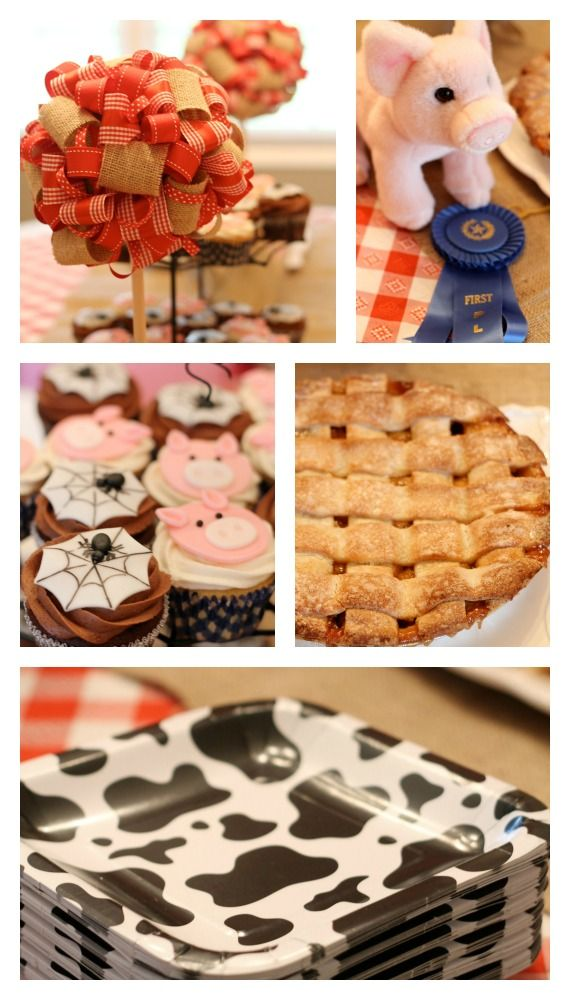 Charlotte's Web Birthday Party - Parties For Pennies