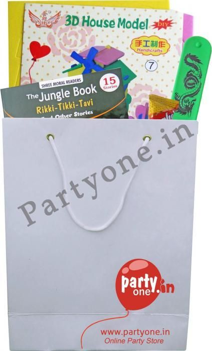 Birthday Return Gifts Diy Activity And Story Book Combo Pack