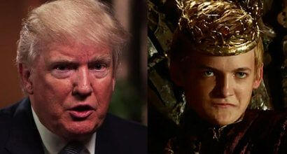 'This is what happens when you elect Joffrey': Internet blasts Trump's off-the-record media meeting meltdown