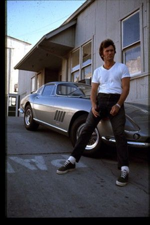 Clint Eastwood Loves fast cars and fast women