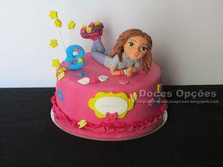 Doces Opções: Um bolo Soy Luna para o aniversário da Mariana