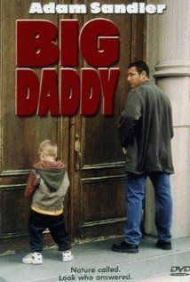 Big Daddy (1999)  A lazy law school grad adopts a kid to impress his girlfriend, but everything doesn't go as planned and he becomes the unlikely foster father.