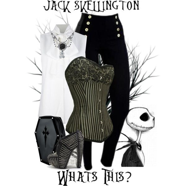 """Jack Skellington - Disney's Nightmare Before Christmas"" by rubytyra on Polyvore:"