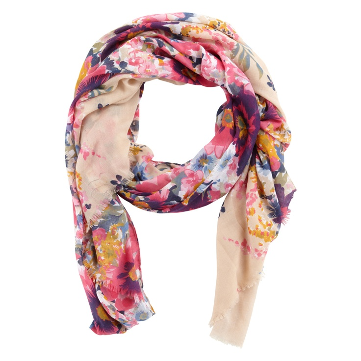 Beautiful floral scarf to welcome summer - Aldo Emberlin in Beige