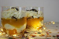 Mascarpone Pfirsich Dessert, schnelles Dessert, Rezept, Nachtisch im Glas, Dessert im Glas, Nachtisch mit Mascarpone, Rezept mit Mascarpone
