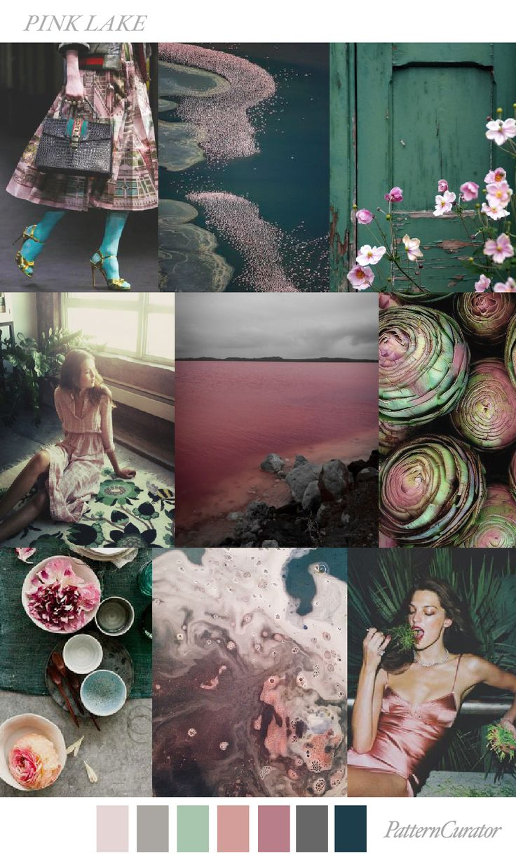TREND_PINK LAKE by PatternCurator | Saved by Gabby Fincham |