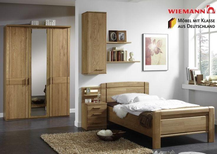 Schlafzimmer Eiche Massiv. die besten 25+ wohnwand eiche ideen auf ...