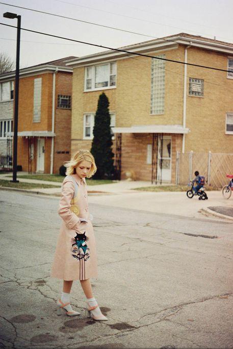 "wallflowermanifesto: "" Tavi Gevinson for i-D Magazine shot by Petra Collins """