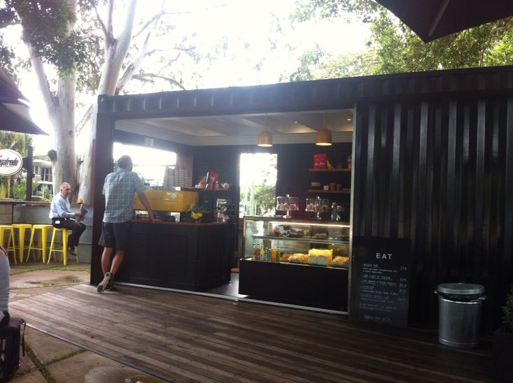 Shipping Container // Cafe // Landscape Design // Noosa