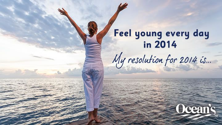 You should enter Feel Young Every Day in 2014. There are great prizes and I think one of us could win!