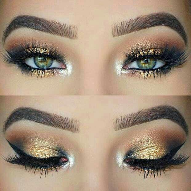 Resalta tus #OjosVerdes con estos 8 pasos de #maquillaje. ¡Te encantará este estilo! #MaquillajeParaOjosVerdes #MaquillajePasoaPaso #TipsdeBelleza #invierno #Otoño