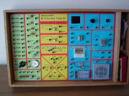 The kit that started my brother's lifelong obsession with electronics, Radio Shack's 65-in-1 Electronic Project Kit.