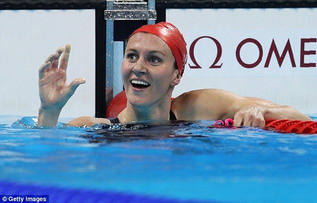 Great Britain's Jazz Carlin claimed a silver medal in the women's 400 metres freestyle