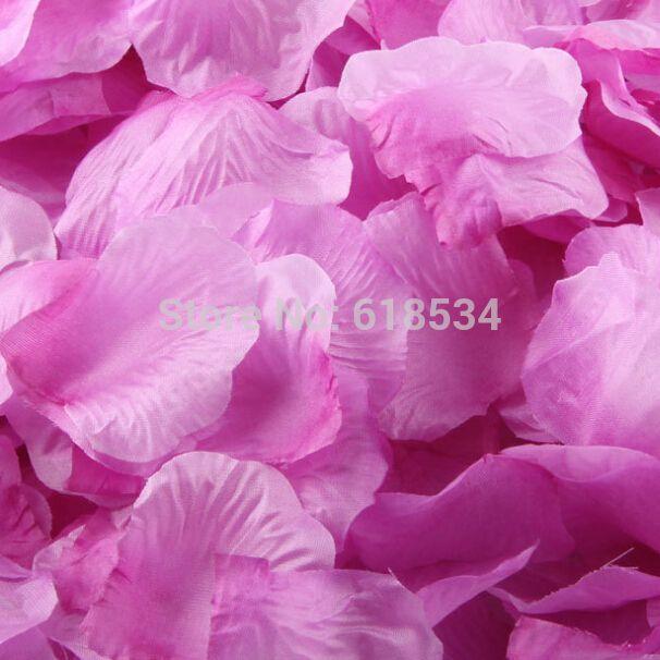 Фиолетовый фиолетовый искусственный лепестки роз для украшения 500 шт. шелк petalas де росас пункт casamento R-003-10