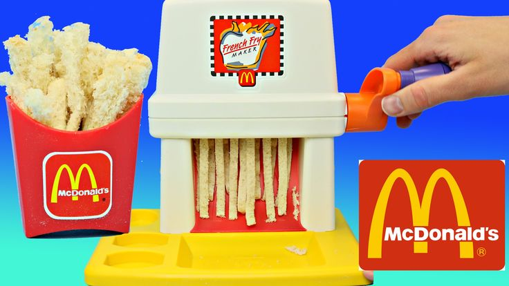 McDonalds Happy Meal Magic FRENCH FRY Maker Playset & Vintage ...