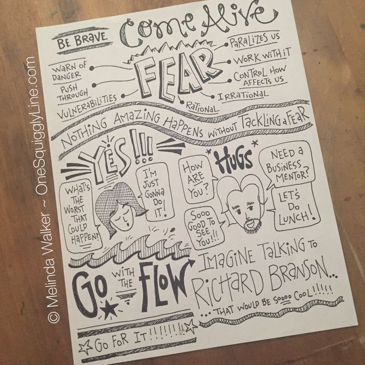 Ya gotta overcome fear to create! #visualthinking #visualnotes #womeninbusiness https://t.co/Qy83oECXcu