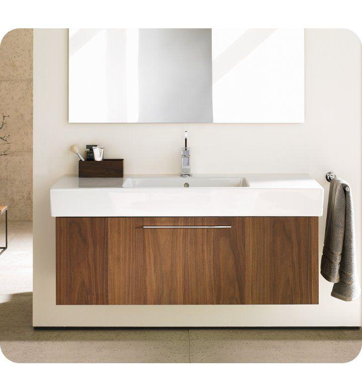 Duravit Fo9573 Fogo 39 3 8 Wall Mount Single Bathroom Vanity With