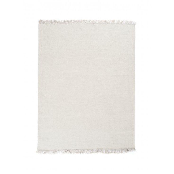 Linie Design Rainbow Ullmatta, White - Mattor - Inredning