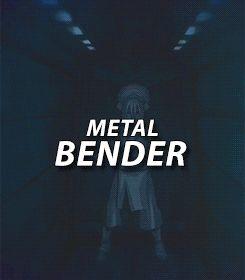 Metal bender. Toph Beifong. Avatar: The Last Airbender (gif).