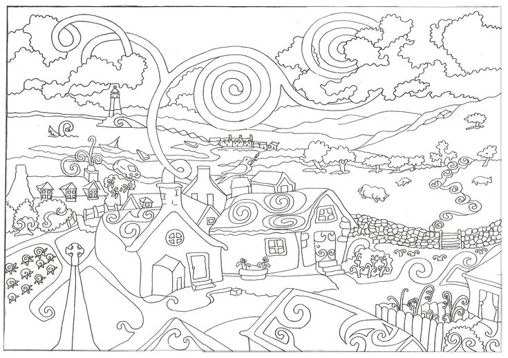 Best 25+ Coloring pages for adults ideas on Pinterest
