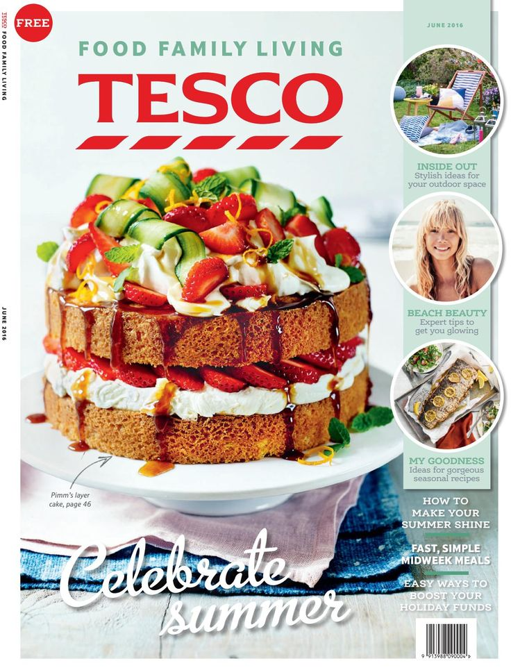 Tesco magazine – June 2016