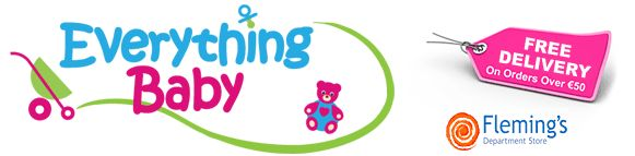 Free delivery on baby products www.everythingbaby.ie