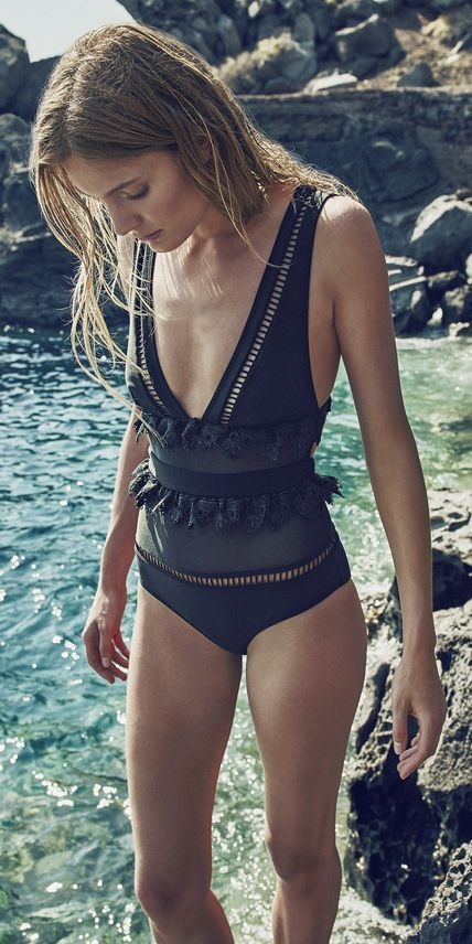 See the Hottest Swimsuit Styles From Resort 2016 Miami Swim Week | InStyle.com #swimsuitsonepiece