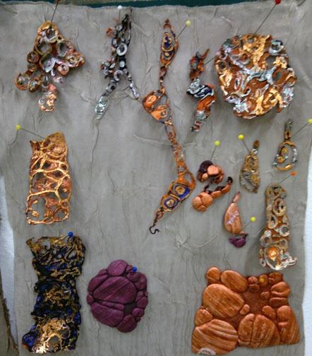 Kim's Hot Textiles: I love Tyvek textures!!