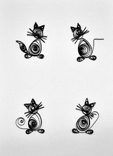 My new hobby   Tablou pisici negre   Cristina Mihaela Stoica   Flickr