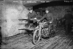 Indian Motor Cycle Ambulance