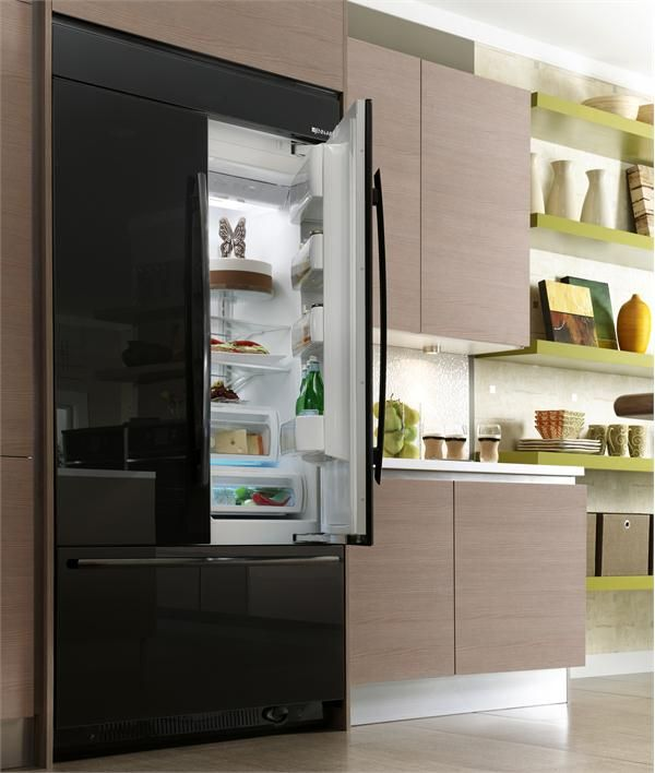 Jenn AirR 42 Fully Integrated Built In French Door Refrigerator From