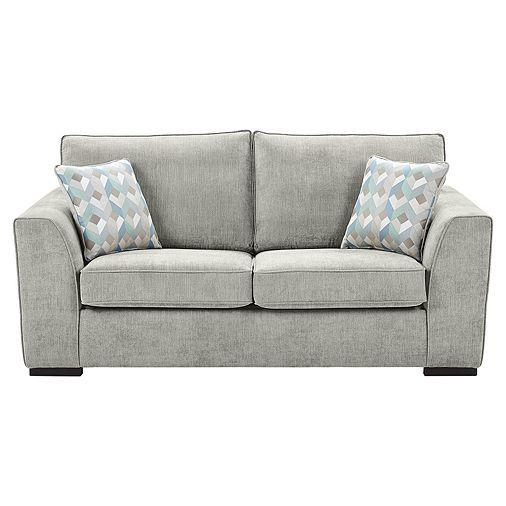 Boston Sofa Bed, Light Grey - wohnzimmer grun grau streichen