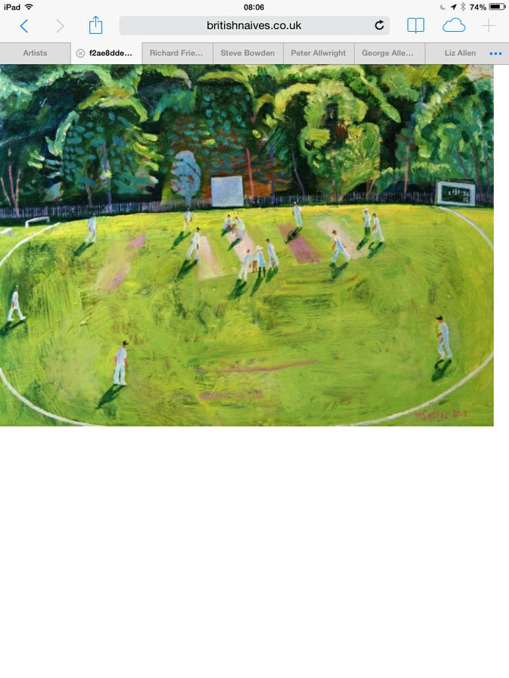 Cricket art