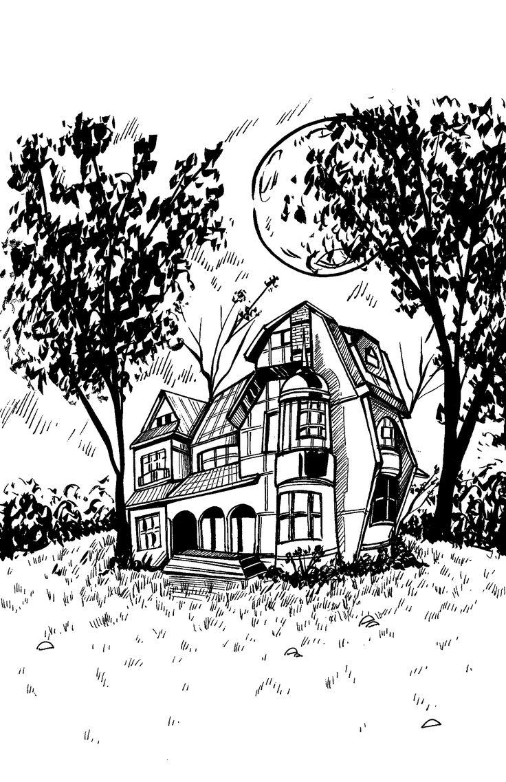 Ink   #Comic #Comics #Paisajes #Paisaje #Ilustracion #ilustraciones #Ink #Inking #inked #tinta #artbok #book #art #arte #artist #artwork #artgallery
