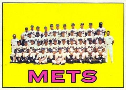 42 Mets team card 1967 Topps