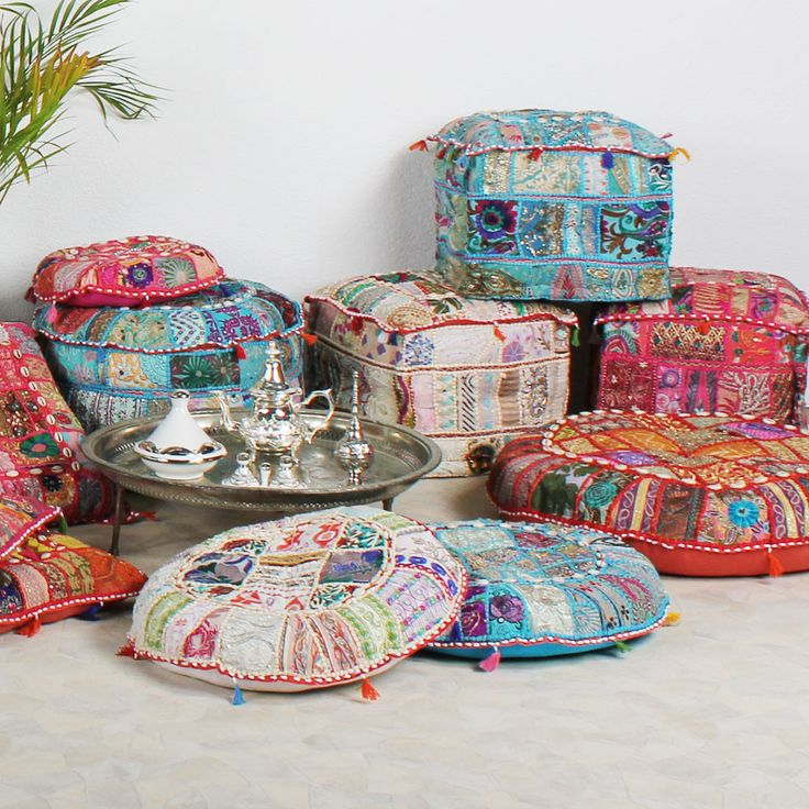 25 besten orientalische kissen bilder auf pinterest orientalische kissen glamour und baumwolle. Black Bedroom Furniture Sets. Home Design Ideas