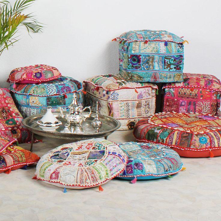 Orientalische sitzm bel raum und m beldesign inspiration - Orientalische wandgestaltung ...